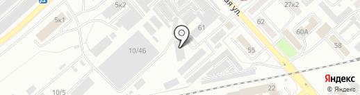 Яблочко! на карте Комсомольска-на-Амуре