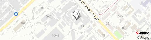 Оптовый магазин-склад на карте Комсомольска-на-Амуре
