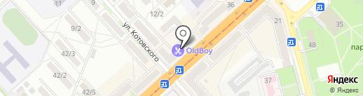 Панетти на карте Комсомольска-на-Амуре