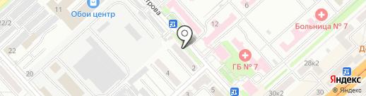 СПЕКТР на карте Комсомольска-на-Амуре