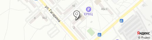 Наутилус на карте Комсомольска-на-Амуре