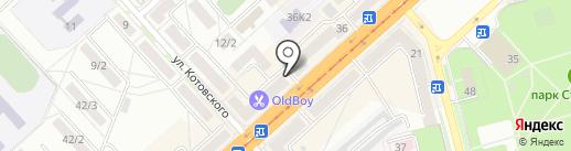 Ю₽lace на карте Комсомольска-на-Амуре