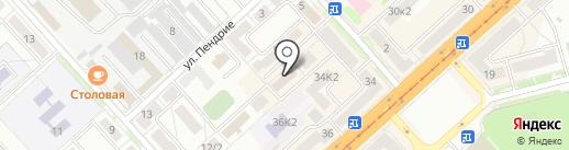 Сатурн на карте Комсомольска-на-Амуре