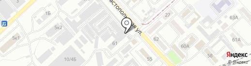 МОТОР-СЕРВИС на карте Комсомольска-на-Амуре