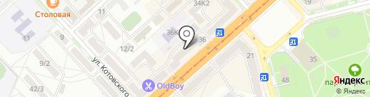 Служба Заказчика по ЖКХ на карте Комсомольска-на-Амуре