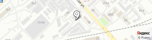 Магазин одноразовой упаковки на карте Комсомольска-на-Амуре