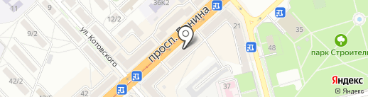 Диана-фото на карте Комсомольска-на-Амуре