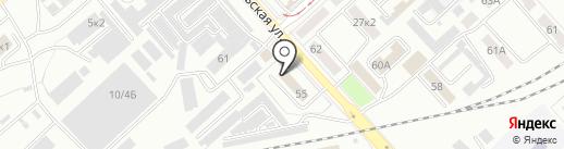 Военный следственный отдел по Комсомольскому-на-Амуре гарнизону на карте Комсомольска-на-Амуре