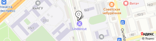 Центр Ультразвуковой Диагностики на карте Комсомольска-на-Амуре