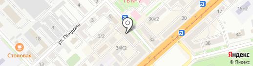 Кумир на карте Комсомольска-на-Амуре