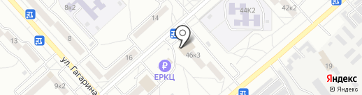 Магазин игрушек, бижутерии и печатной продукции на карте Комсомольска-на-Амуре