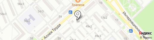 Дальневосточный центр оценки собственности на карте Комсомольска-на-Амуре