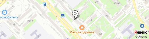 Транзит Хабаровск на карте Комсомольска-на-Амуре