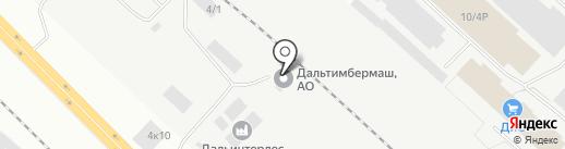 КорАвто на карте Комсомольска-на-Амуре