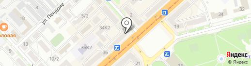 Аптека на карте Комсомольска-на-Амуре