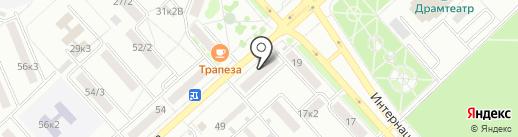 МИШКА на карте Комсомольска-на-Амуре