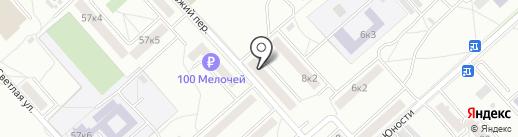 Новая Аптека на карте Комсомольска-на-Амуре