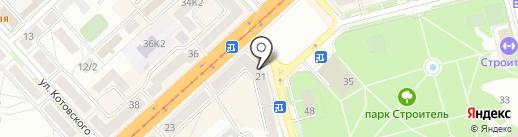 Веселая затея на карте Комсомольска-на-Амуре
