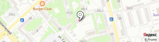 Комсомольский-на-Амуре реабилитационный центр для детей и подростков с ограниченными возможностями, КГБУ на карте Комсомольска-на-Амуре