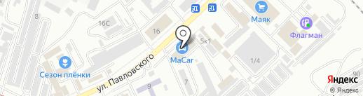 Macar на карте Комсомольска-на-Амуре