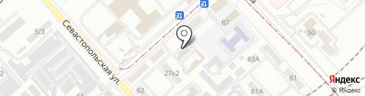 Управление по делам ГОЧС на карте Комсомольска-на-Амуре