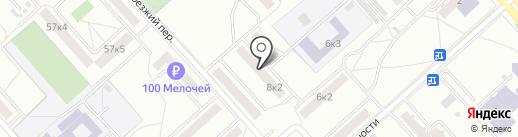 Продукты на карте Комсомольска-на-Амуре