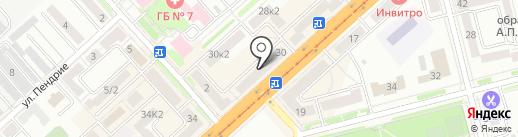 EYEKRAFT на карте Комсомольска-на-Амуре