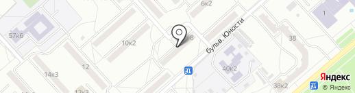 Молния на карте Комсомольска-на-Амуре