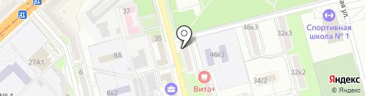 Жемчужная лилия на карте Комсомольска-на-Амуре