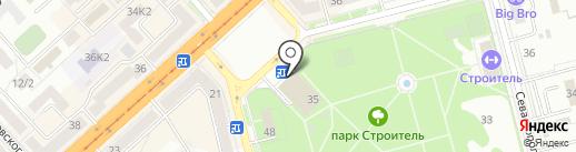 Театрально-концертная касса на карте Комсомольска-на-Амуре