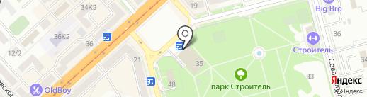 Стиль на карте Комсомольска-на-Амуре