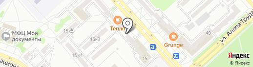Платежный терминал, Восточный экспресс банк на карте Комсомольска-на-Амуре