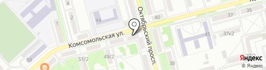 Соло Интерьер на карте Комсомольска-на-Амуре