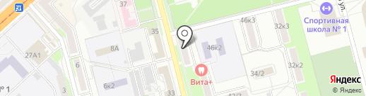 Русская Зима на карте Комсомольска-на-Амуре