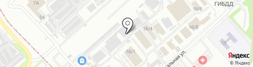 АДЖИМА-ДВ на карте Комсомольска-на-Амуре