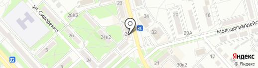 Cyberplat на карте Комсомольска-на-Амуре