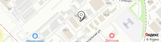 ДВ-Восток на карте Комсомольска-на-Амуре