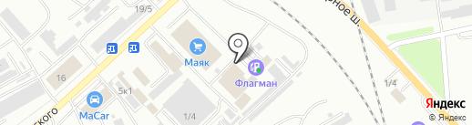 Yakuza на карте Комсомольска-на-Амуре