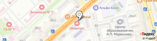 Канцлер на карте Комсомольска-на-Амуре