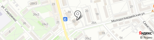 Атланта-2 на карте Комсомольска-на-Амуре