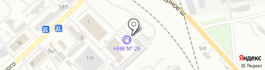 Мойка №1 на карте Комсомольска-на-Амуре