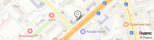Ритм на карте Комсомольска-на-Амуре