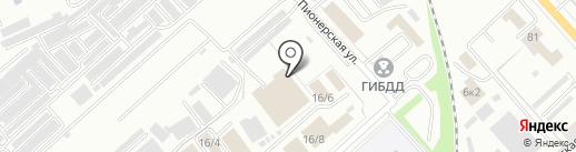 ПрофСпецСервис на карте Комсомольска-на-Амуре