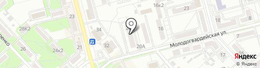 ФИАС-Амур на карте Комсомольска-на-Амуре