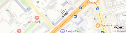 Точка опоры на карте Комсомольска-на-Амуре