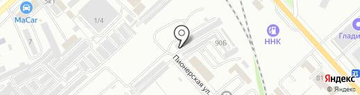 Автомастер на карте Комсомольска-на-Амуре