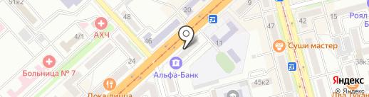 Харизма на карте Комсомольска-на-Амуре