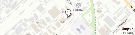 Магазин-склад овощей и фруктов на карте Комсомольска-на-Амуре