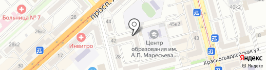 Партнер на карте Комсомольска-на-Амуре