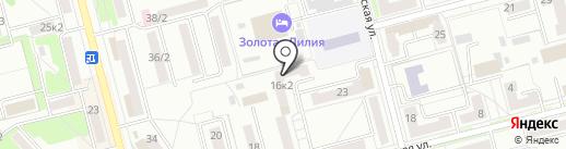 Батон на карте Комсомольска-на-Амуре